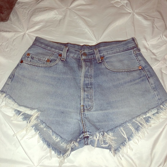 Levi's Pants - Levi's 501 denim shorts
